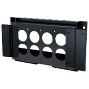 日本フォームサービス タッチパネル・システムズ製品対応角度調整式壁掛金具(横付用) (FFPDS10X) FFP-DS10-X【納期目安:1週間】