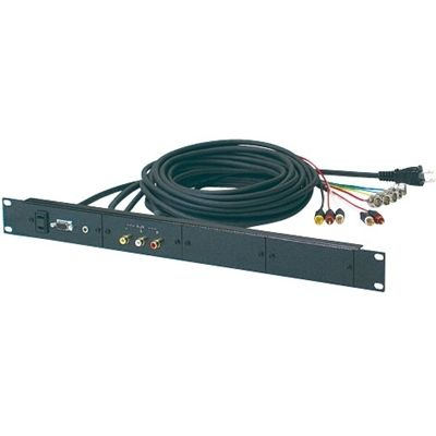 オーロラ EIAマウント1U中継用接続パネル5BNCタイプ PA-40B