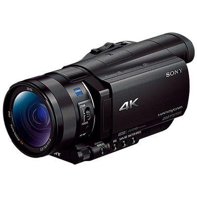 ソニー 約2090万画素 デジタル4Kビデオカメラレコーダー 光学12倍ズーム FDR-AX100【納期目安:1ヶ月】