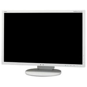NEC 「5年保証」<MultiSync>22インチ ワイド 液晶ディスプレイ(1680x1050/D-Sub15Pin/DisplayPort/DVI/スピーカー/LED/TNパネル/ホワイト) LCD-EA223WM-W3