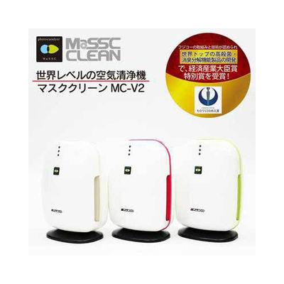 その他 空気消臭殺菌装置 マスククリーン 8畳用 ピンク MC-V2-PI