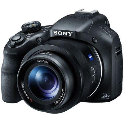 ソニー GPS/NFC/Wi-Fi機能を搭載した光学50倍ズームデジタルスチルカメラ (DSCHX400V) DSC-HX400V【納期目安:2週間】