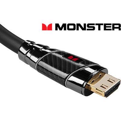 モンスターケーブル (4.8m)超高速伝送スピードを実現したHDMIケーブルBlack Platinum MCBPLUHD-16FT