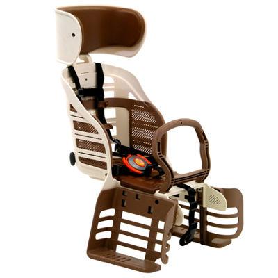 オージーケー技研(OGK) RBC-007DX3 ヘッドレスト付デラックスうしろ子供のせ アイボリー OTM-17986【納期目安:1週間】