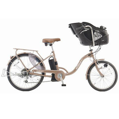 KAIHOU 20/24インチ 外装6段 子乗せ電動アシスト自転車(シャンパンゴールド) KH-DCY07SGO