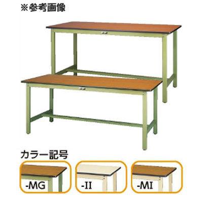 山金工業 ヤマテック ワークテーブル300固定式 【個人宅宛配達不可】 SWP-975-MG