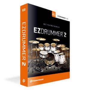 クリプトン・フューチャー・メディア 演奏、音作り、作曲。全てが簡単な即戦力ドラム音源!EZ DRUMMER 2 EZD2