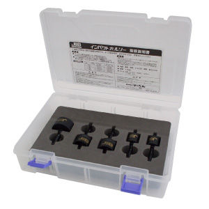 ジョブマスター インパクトホールソー 5本セット JIH-173