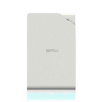 シリコンパワー <S03>ポータブルハードディスク(2TB/USB3.0/ホワイト) S7400GK