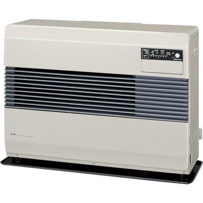 コロナ FF式温風暖房機 ビルトインタイプ別置タンク式 (フロスティホワイト) (FFB10014W) FF-B10014-W