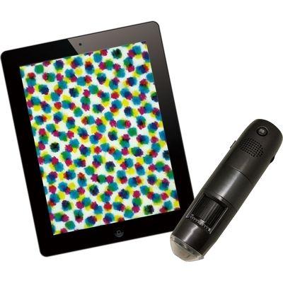 スリーアールシステム WIFI接続ワイヤレスデジタル顕微鏡(600倍タブレットセットモデル) 3R-WM601WIFI-SET 3R-WM601WIFISET
