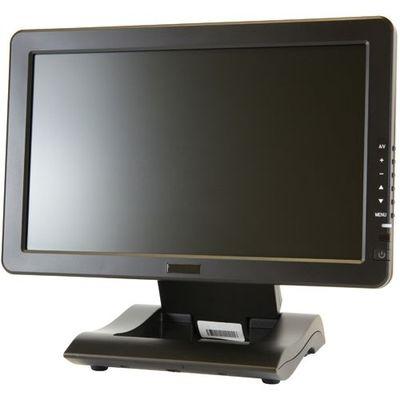 エーディテクノ 10.1インチ ワイド タッチパネル 液晶ディスプレイ(1024x600/HDMI/DVI/VGA/RCAx2/スピーカー/LED/4線式抵抗膜) LCD1012T【納期目安:1週間】