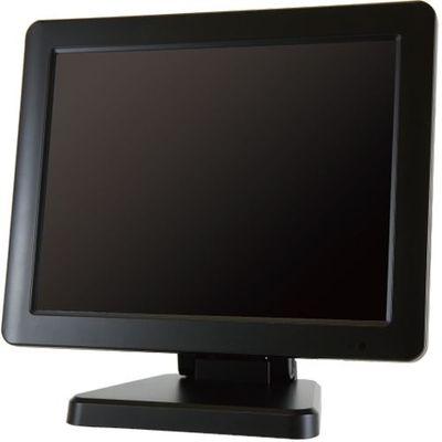 エーディテクノ 9.7インチ スクエア タッチパネル 液晶ディスプレイ(1024x768/HDMI/DVI/VGA/スピーカー/LED/IPSパネル/5線式抵抗膜/業務用/ブラック) LCD97T【納期目安:1週間】