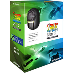 インターネット Singer Song Writer Lite 9 マイクボックス (SSWLT90WMB) SSWLT90W-MB