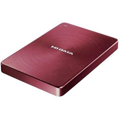 アイ・オー・データ機器 USB 3.0/2.0対応 ポータブルハードディスク「カクうす」1.0TB レッド HDPX-UTA1.0R