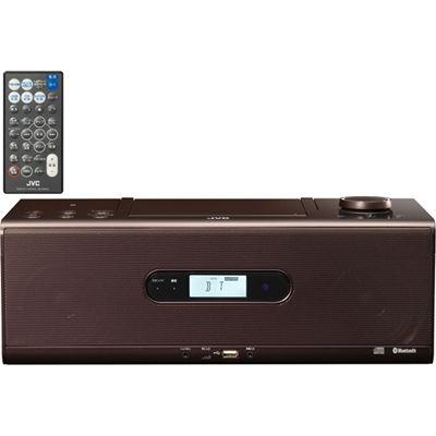 【あす楽対応_関東】ビクター Bluetooth/NFC機能搭載CDポータブルシステム (RDW1T)(ブラウン) RD-W1-T