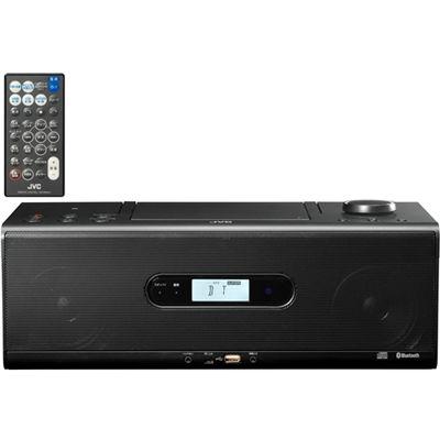 【あす楽対応_関東】ビクター Bluetooth/NFC機能搭載CDポータブルシステム (RDW1B)(ブラック) RD-W1-B