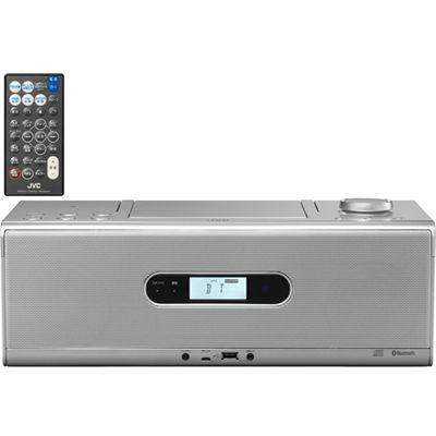【あす楽対応_関東】ビクター Bluetooth/NFC機能搭載CDポータブルシステム (RDW1S)(シルバー) RD-W1-S