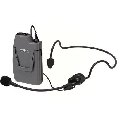 UNI-PEX ヘッドセット形ワイヤレスマイクロホン WM-3130