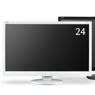 NEC 「5年保証」24インチ ワイド 液晶ディスプレイ(1920x1080/D-Sub15Pin/DVI/LED/TNパネル/ホワイト) LCD-AS242W【納期目安:追って連絡】