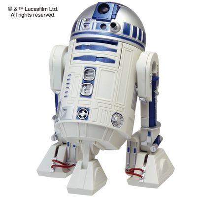 リズム時計 STARWARS R2-D2 アクション・アラームクロック 目覚し時計 8ZDA21BZ03