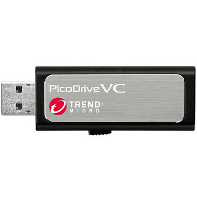 グリーンハウス ウイルスチェックUSB3.0メモリ 「ピコドライブVC」 32GB 3年間サポート版 GH-UF3VC3-32G