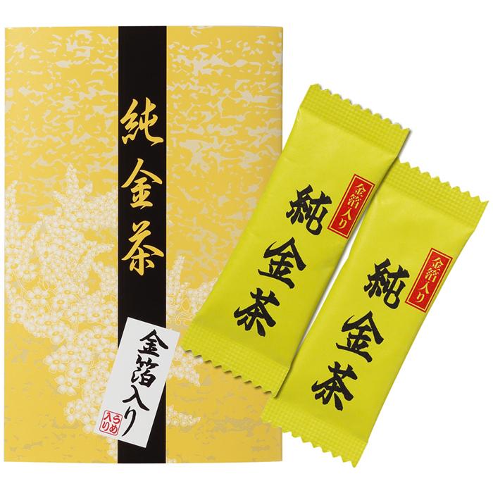 三盛物産 【100個セット】純金茶 [2g×2個] J-10 4944861001515