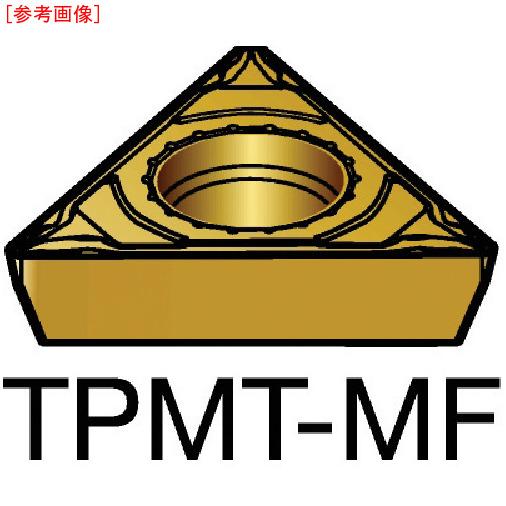 サンドビック 【10個セット】サンドビック コロターン111 旋削用ポジ・チップ 2015 TPMT-11-03-04-MF-2015-8716