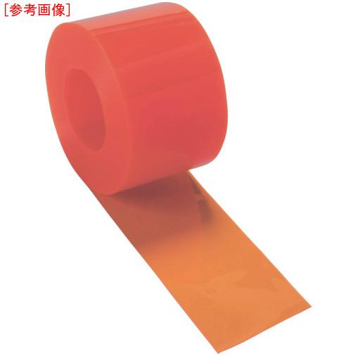 トラスコ中山 TRUSCO ストリップ型間仕切りシート防虫オレンジ2X300X30M 4989999277753