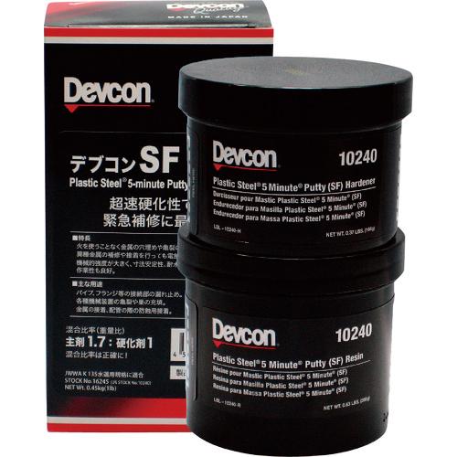ITWパフォーマンスポリマー デブコン SF 1lb(450g)鉄粉超速硬性 16245 4512192320027