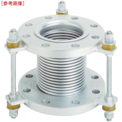 トーフレ トーフレ フランジ無溶接型防振継手 10K SS400 100AX150L 4571411267048