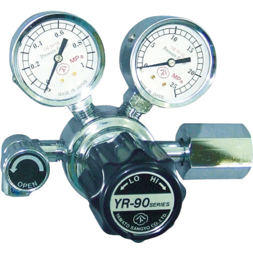 ヤマト産業 ヤマト 汎用小型圧力調整器 YR-90(バルブ付) 4560125828454