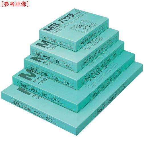 明光商会 MS パウチフィルム MP15-307430 (100枚入) 4993460230789