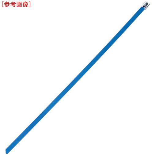 パンドウイットコーポレーション パンドウイット MLT フルコーティングステンレススチールバンド SUS316 青 幅8.1mm 長さ521mm 50本入り MLTFC6H-LP316BU 0074983117918