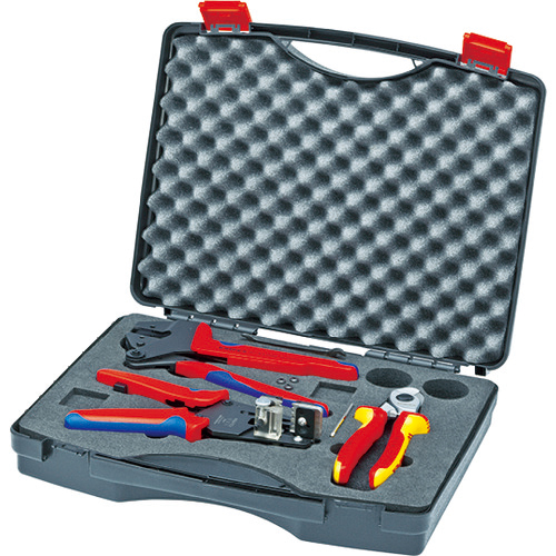KNIPEX社 KNIPEX 9791-01 太陽光発電用工具セット 3点 4003773070351