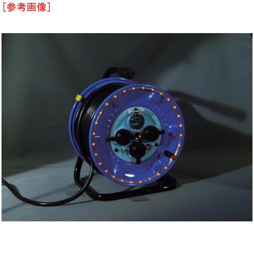日動工業 日動 防雨型電工ドラム LEDラインドラム 赤 NPWLEB33R 4937305046708