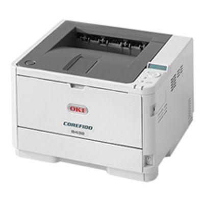 OKI 「5年間無償保証」<COREFIDO>LEDプリンター B432DNW(モノクロ/LAN/W-LAN/USB2.0/A4) B432DNW