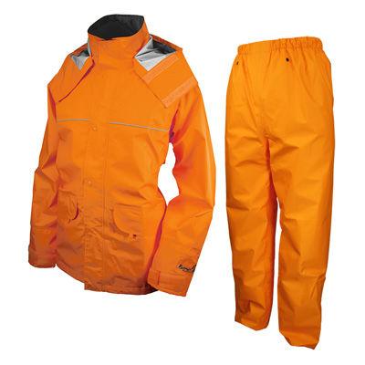 URVAN(アーヴァン) レインスーツ 千両万両 オレンジ 4L #9850 AA-17935