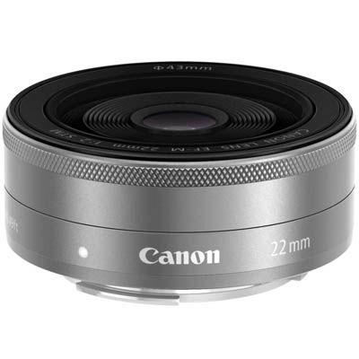 キヤノン EF-M22mm F2 STM シルバー【一眼レフカメラ/ミラーレスカメラ用交換レンズ】 (シルバー) (EFM222STMSL) EF-M222STMSL【納期目安:2週間】