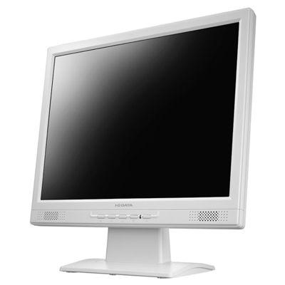アイ・オー・データ機器 「5年保証」15インチ スクエア 液晶ディスプレイ(1024x768/アナログRGB/DVI-D/スピーカー/LED/ノングレア/TNパネル/ホワイト) LCD-AD151SEW