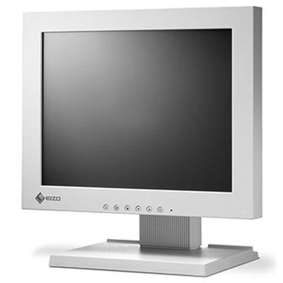 EIZO <DuraVision>12.1インチ スクエア タッチパネル 液晶ディスプレイ(800x600/D-Sub15Pin/DVI/LED/アンチグレア/TNパネル/4線式アナログ抵抗膜/セレーングレイ) FDSV1201T-GY【納期目安:追って連絡】