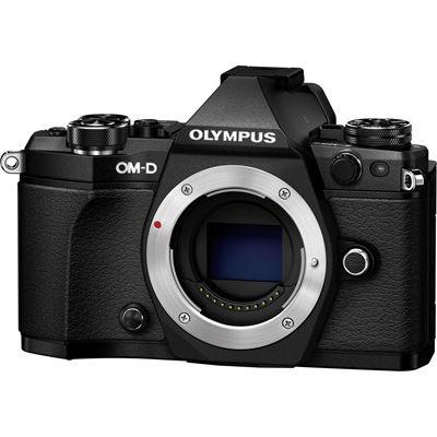 オリンパス <OM-D>OLYMPUS ミラーレス一眼カメラ E-M5 Mark II・ボディ(1605万画素/ブラック) E-M5_MARKII_BODY_BLK