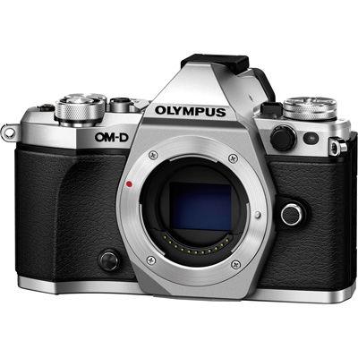 オリンパス <OM-D>OLYMPUS ミラーレス一眼カメラ E-M5 Mark II・ボディ(1605万画素/シルバー) E-M5_MARKII_BODY_SLV