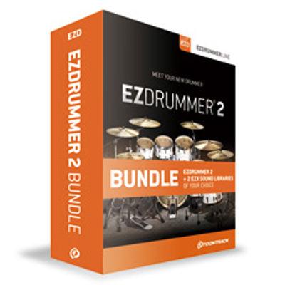 クリプトン・フューチャー・メディア EZ DRUMMER 2 BUNDLE TT053【納期目安:1週間】