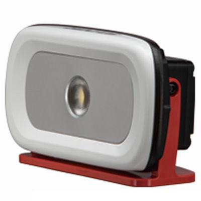 GENTOS 2m落下耐久&耐塵防水(1m)型 面発光LED搭載で充電池とAC電源を選んで使える投光器 GZ-301
