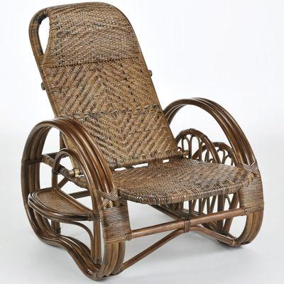 今枝商店 Romantic Rattan リクライニング座椅子 A204B