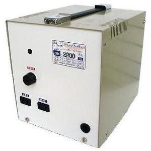 日章工業 アップ/ダウントランス(AC240⇔AC100V、2200W) SK-2200EX【納期目安:3週間】