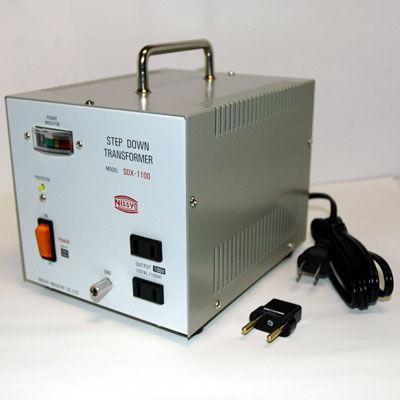 日章工業 ハイクラスダウントランス(AC220V/240V切換、1100W) SDX-1100【納期目安:1週間】