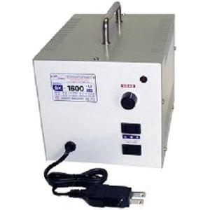 日章工業 アップ/ダウントランス(AC120⇔AC100V、1600W) SK-1600U【納期目安:3週間】