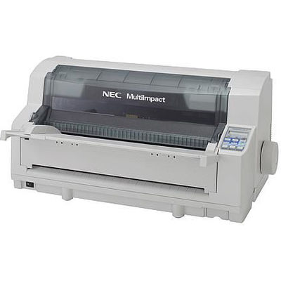 NEC <MultiImpact>インパクトプリンター 700JEN(カラー印刷/24ドットプリントヘッド/LAN/パラレル/水平型/136桁/オリジナル+8枚) PR-D700JEN